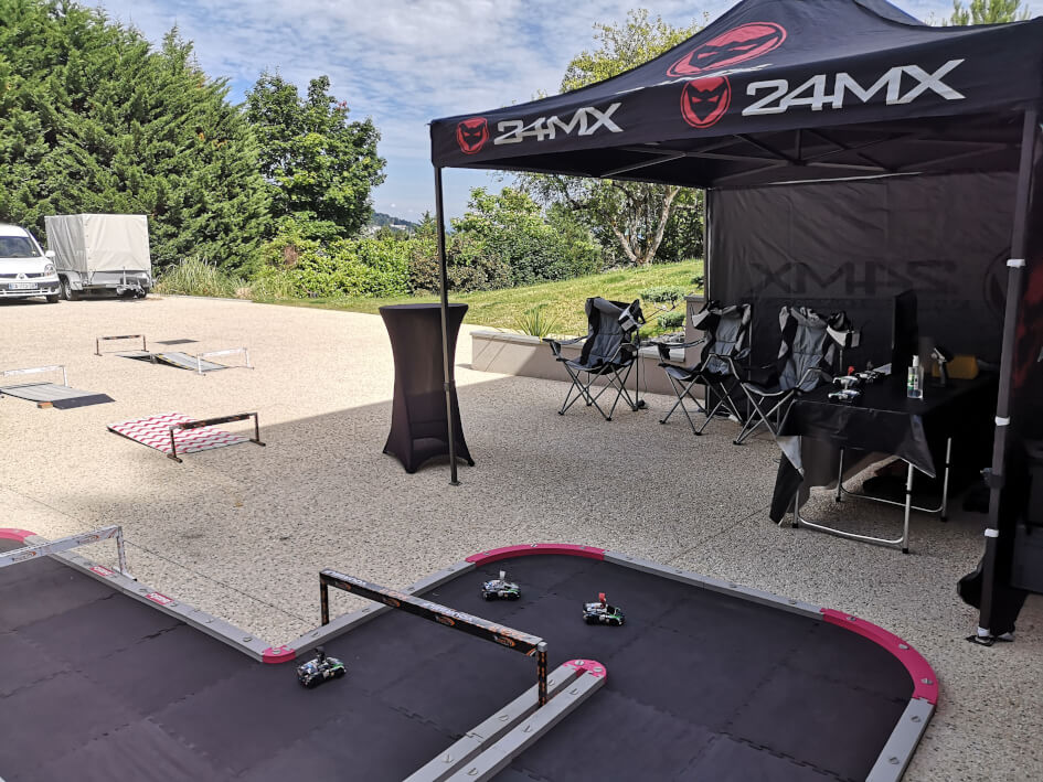 stand VR anniversaire privé Race it yourself
